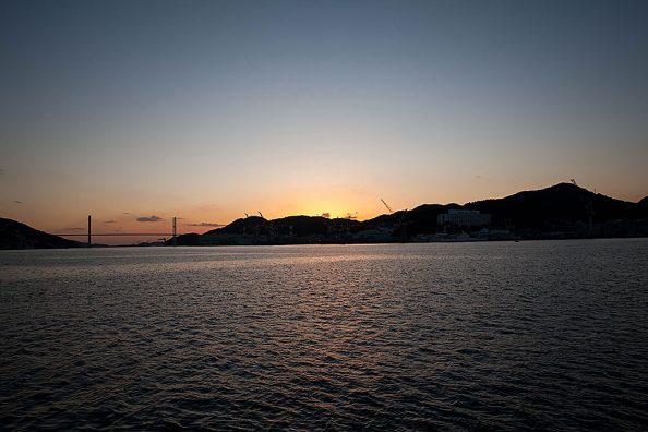 ボルタンスキーと長崎の夕景