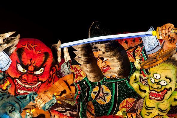 日本のお祭り色々