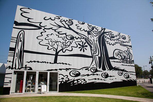 青森県立美術館と十和田現代美術館