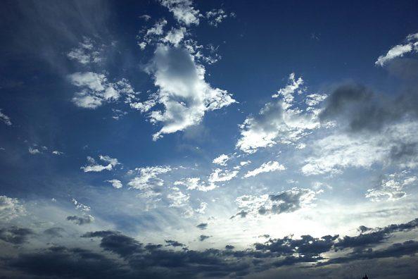 多摩川の空、日々の写真